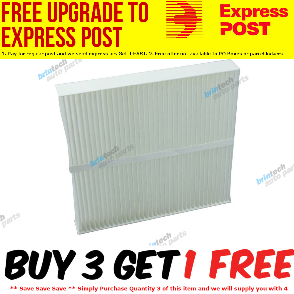 Cabin-Air-Filter-2003-For-NISSAN-X-TRAIL-4D-WAGON-T30-Petrol-4-2-5L-QR25DE-900F thumbnail 2