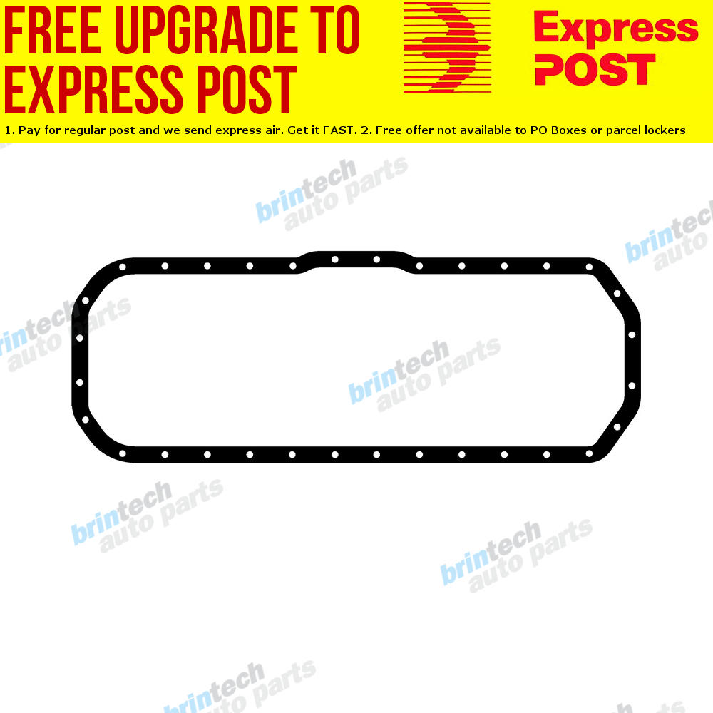 details about 1973-1974 for bedford jbr500 6bb1 isuzu engine oil pan sump  gasket