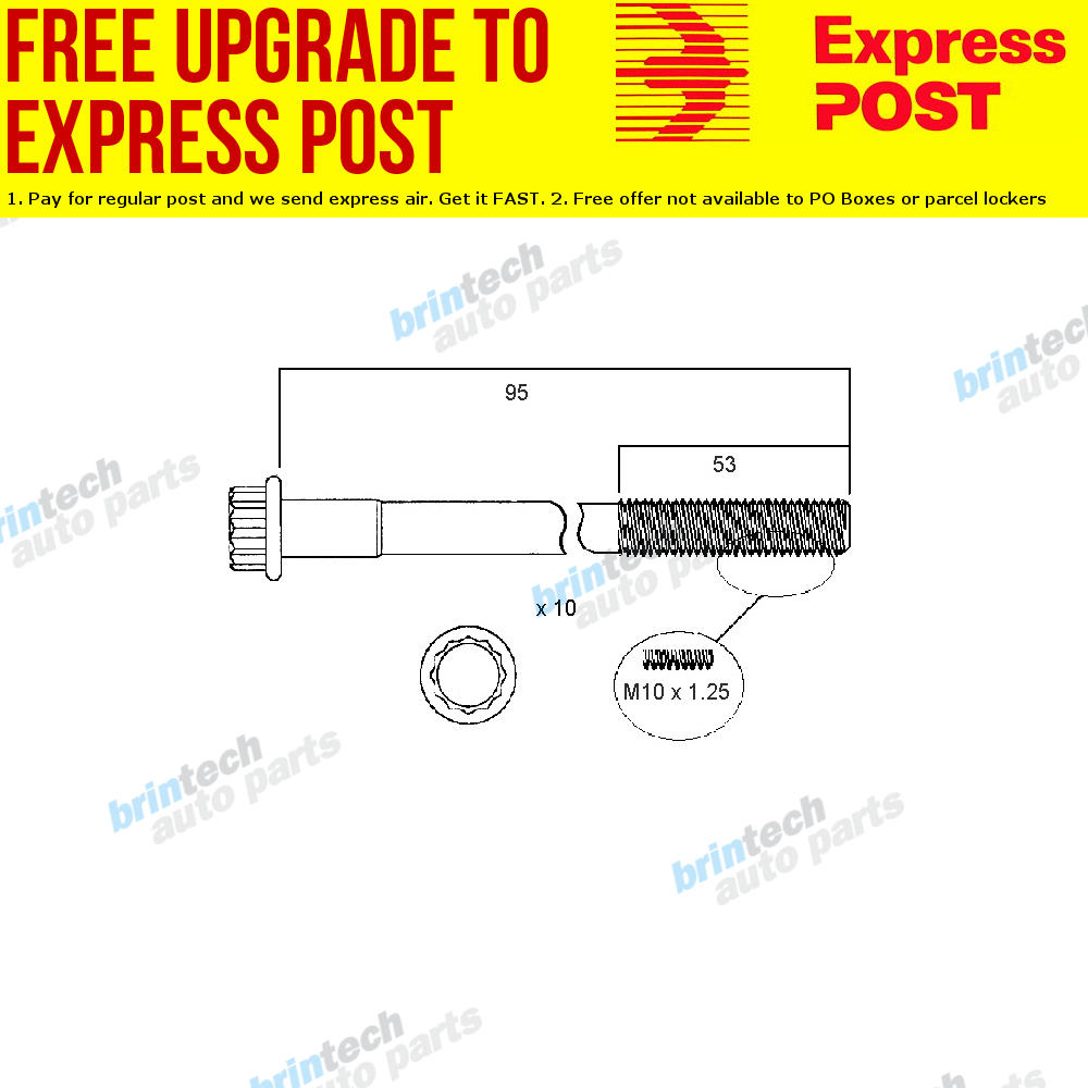 details about 1997-2002 for toyota camry sxv20 5s 5s-fe head bolt set